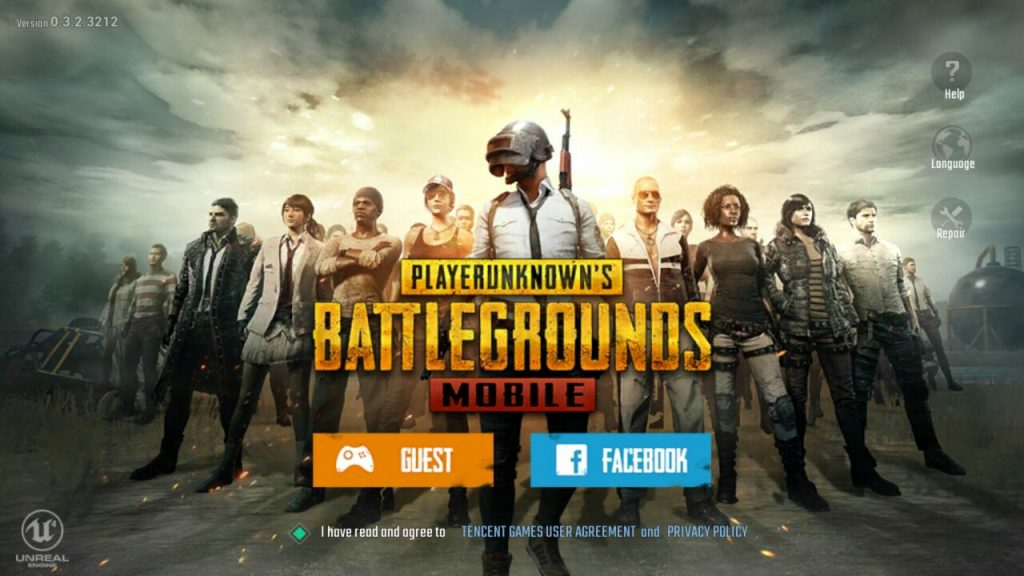 Pubg English version apk