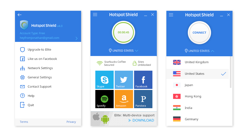 Hotspot Shield VPN Premium Apk Free Download - AnyApk