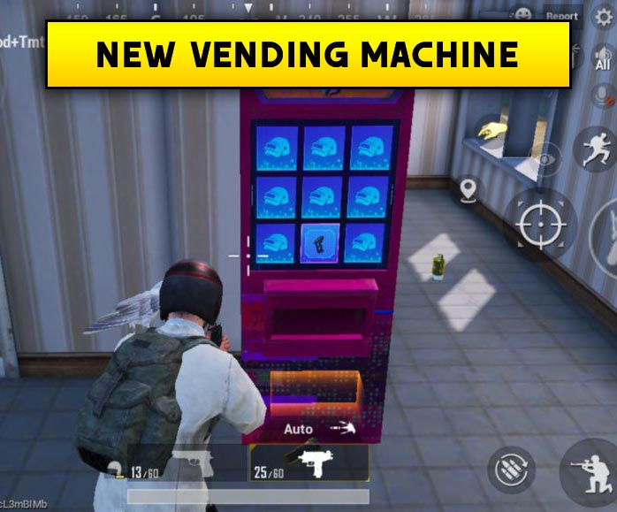 PUBG 0.17.0 New Update vending machine